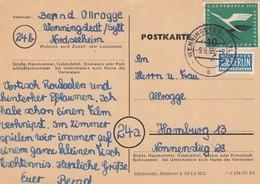 CARTE  ALLEMAGNE. NOTOPFER 2 BERLIN.  WENNINGSTEDT / 4 - Lettres & Documents