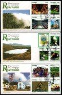 COLOMBIA- KOLUMBIEN- 2015 FDC/SPD. RISARALDA DEPARTMENT. SET X 3 COVERS. - Colombia