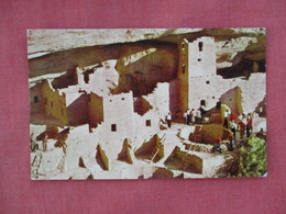 Cliff Palace Ruin  Mesa Verde National Park >   Ref 3077 - Native Americans