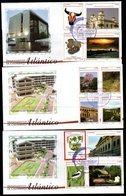 COLOMBIA- KOLUMBIEN- 2010 FDC/SPD. ATLANTICO DEPARTMENT. SET X 3 COVERS - Colombie