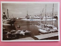 Liban - Carte Postale - Beyrouth - Le Port - Contre-torpilleur Vauban En Escale (1941 ?) - Militaria - Liban