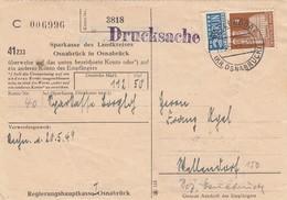 POSTKARTE. NOTOPFER 2 BERLIN.  WELLENDORF   / 4 - Zone Anglo-Américaine