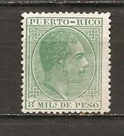 Puerto Rico - Edifil  60 - Yvert 60 (MH/(*)) (sin Goma) - Puerto Rico