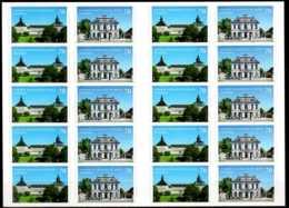 2018 Germany -Castles Of Germany XV- Friedenstein / Falkenlust - Full Booklet - MNH** MI 3388/3389 - BRD