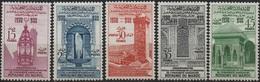Maroc 1960 - 1100 Ans Université De Karaouiyne - Y&T MH* 405 à 409 - Morocco (1956-...)
