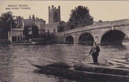 HENLEY BRIDGE AND RIVER THAMES - England