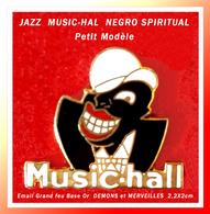 SUPER PIN'S MUSIQUE : JAZZ, MUSIC-HALL, NEGRO-SPIRITUAL Version Petit Modèle, DEMONS Et MERVEILLES  2,2X2cm - Music