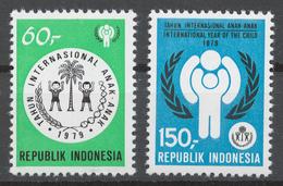 Indonesia 1979 Mi# 940-41** INTERNATIONAL YEAR OF THE CHILD - Indonésie