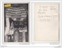 6614 AK/PC/CARTE PHOTO 2793 LE CAIRE INTERIEUR SYNAGOGUE BEN EZRA - Egitto