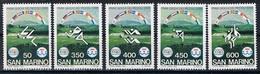 San Marino Y/T 1110 / 1114 (**) - Saint-Marin