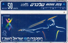 ISRAEL - Maccabiah 15, CN : 704G, 06/97, Used - Israel