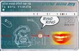 ISRAEL - Alexander Graham Bell(puzzle 2/2), CN : 703E, 04/97, Used - Israel