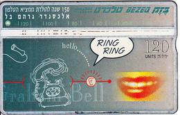 ISRAEL - Alexander Graham Bell(puzzle 2/2), CN : 703C, 04/97, Used - Israel