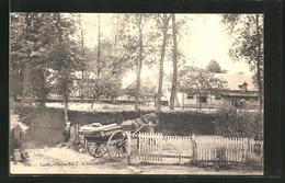 CPA Cailly, L'Abreuvoir, Attelage à Cheval - Francia
