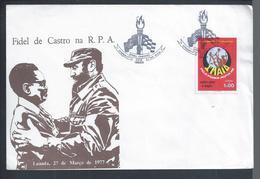 Visita De Fidel De Castro A Angola Em 1977.Visit Of Fidel De Castro To Angola In 1977. Agostinho Neto. - Angola