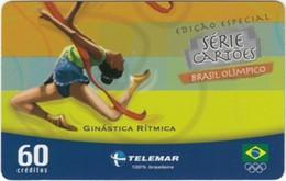 Brazil - BR-TLM-MG-2011, 06/34 - 0150, Event, Rhythm Gymnastics, 60U, 30,960ex, 4/04, Used - Jeux Olympiques