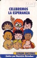 TARJETA TELEFONICA DE VENEZUELA. SEMANA NACIONAL 1/4, Celebremos La Esperanza 05.98, VE-CAN2-0346A (720) - Venezuela