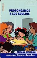 TARJETA TELEFONICA DE VENEZUELA. SEMANA NACIONAL 3/4, Propongamos A Los Adultos 05.98, VE-CAN2-0348 (719) - Venezuela