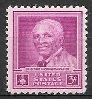 1948 3 Cents Carver, Mint Never Hinged - United States