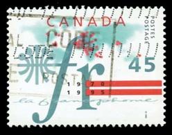 Canada (Scott No.1589  - La Francophonie) (o) - 1952-.... Règne D'Elizabeth II