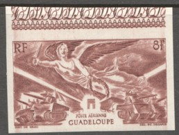 1946  1er Anniv. De La Victoire  PA 6 **  Non-dentelé - Guadeloupe (1884-1947)