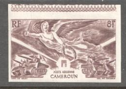 1943  1er Anniv. De La Victoire  PA 31  ** Non-dentelé - Cameroun (1915-1959)