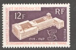 1969   50è Anniv. De L'Org. Internationale Du Travail  Yv 363 ** - Nueva Caledonia