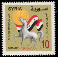 Syria 2008 National Day Unmounted Mint. - Syrie