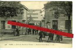 PARIS XIII - ENTREE DU MARCHE AUX CHEVAUX - Arrondissement: 13