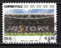 ITALIA - 2016 - JUVENTUS - CAMPIONE D'ITALIA 2016 - USATO - 2011-...: Afgestempeld