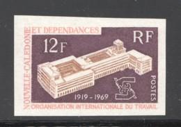 1969  50è Anniv. De L'OIT Yv 365  ** Non Dentelé - New Caledonia