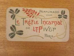 CX 6) Calendário Em Português LE TREFLE INCARNAT L.T. PIVER 1905 Version Portugaise De Ce Calendrier Parfumee 8,5x4,5cm - Kalenders