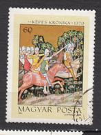 Hongrie, Hungary, Art, Peinture, Painting, Tir à L'arc, Archery, Cheval, Horse, Militaria - Tiro Al Arco