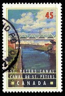 Canada (Scott No.1725 - Canal [Rideau] Canal) (o) - 1952-.... Règne D'Elizabeth II