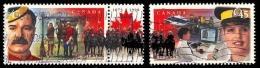 Canada (Scott No.1736 - 125e [RCMP] 125e) (o) - 1952-.... Règne D'Elizabeth II