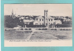 Old Post Card Of The Hill Part From Donkin Reserve,Port Elizabeth, Eastern Cape, South Africa ,R67. - South Africa
