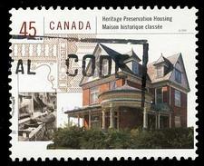 Canada (Scott No.1755d - Maisons Canadiennes / Housing In Canada) (o) - 1952-.... Règne D'Elizabeth II