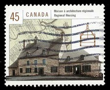 Canada (Scott No.1755c - Maisons Canadiennes / Housing In Canada) (o) - 1952-.... Règne D'Elizabeth II