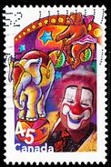 Canada (Scott No.1757i - Le Cirque / The Circus) (o)  De Bloc Feuillet / From SS - 1952-.... Règne D'Elizabeth II