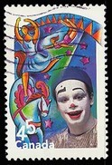 Canada (Scott No.1758i - Le Cirque / The Circus) (o)  De Bloc Feuillet / From SS - 1952-.... Règne D'Elizabeth II