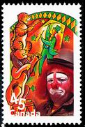 Canada (Scott No.1759i - Le Cirque / The Circus) (o)  De Bloc Feuillet / From SS - 1952-.... Règne D'Elizabeth II