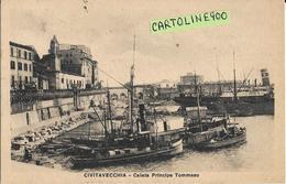Lazio-civitavecchia Calata Principe Tommaso Animata Anni 20 30 - Civitavecchia