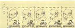 FRANCE 1990 N° 2671** GENEVOIS DE 5 BDF - France