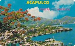 Mexique Acapulco Vista Panoramica  Panorama Of The City And Bay Of Acapulco TBE - Mexico