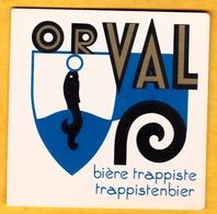 Sous-bock Cartonné - Bière - Belgique - Orval - Bière Trappiste - Trappistenbier - Beer Mats