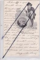Italie;Compositeur Giuseppe VERDI E Le Sue Opere Principali (1813-1901) Carte Précurseur De 1901 écrite à Milan - Non Classés