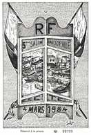 5e Salon Cartophile SETE  4 Mars 1984 RV - Collector Fairs & Bourses