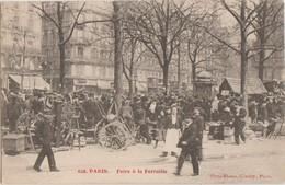 CPA 75 PARIS XI Boulevard Richard Lenoir La Foire à La Feraille Animation Série Gondry N° 628 - Arrondissement: 11