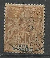 COTE D'IVOIRE N° 9 OBL TB - Ivoorkust (1892-1944)