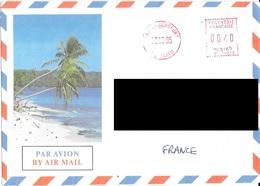 Lettre Aéroport De Tahiti Faaa. (Voir Commentaires) - Tahiti